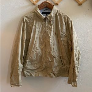Tommy Hilfiger Light Jacket L Khaki 90s Full Zip